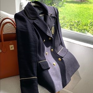 Military Blazer Double Breasted